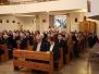 Olsztyn 6.01.2013 - wspólnota DK na corocznym spotkaniu opłatkowym